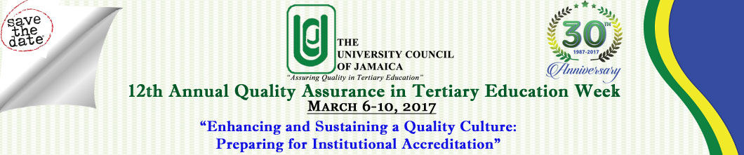 12th Annual QA Week: Workshop for Assessors and Accreditation Officers