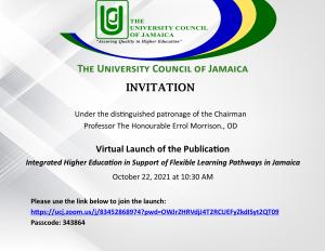 Invitation to Virtual Publication Launch