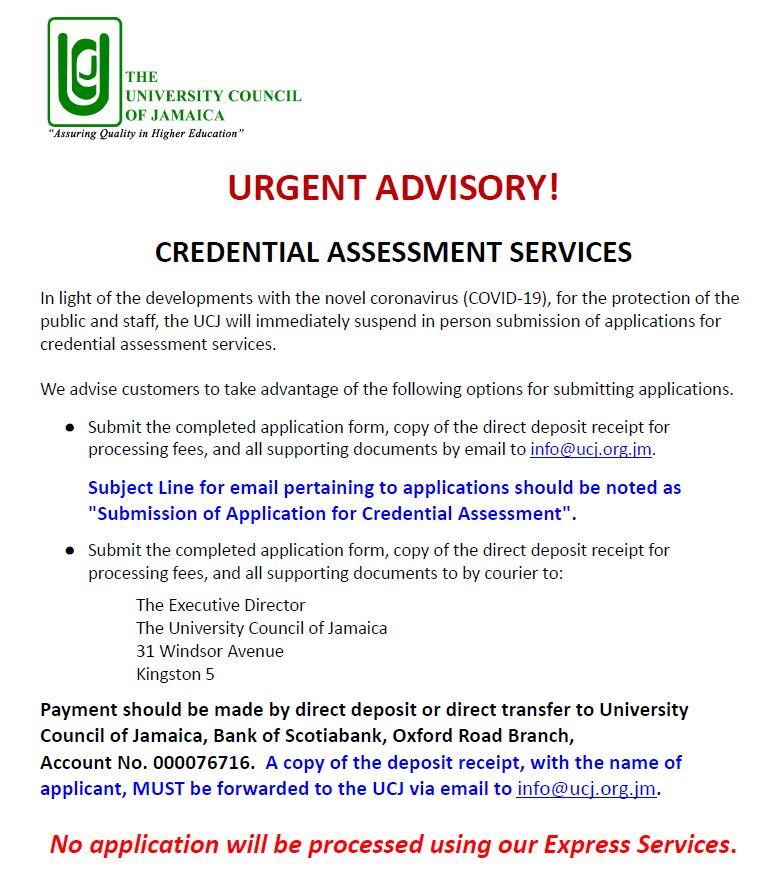 CA Advisory